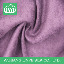 Fashionable washable suede fabric, lady coat fabric, loose cloth fabric