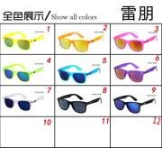 UV400 Classic RB Style Retro 2481 Wayfarer Acetate Plastic Men Women Fashion Mirror Sunglasses