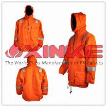 Пользовательские хлопок нейлона куртка с капюшоном для диких рабочей спецодежды 1.Ткани технические из хлопка и нейлона куртка с капюшоном :