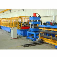 Máquina formadora de rollos de placa de riel de barandilla de 2 ondas