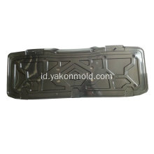 Auto plastic injection mold auto bumper