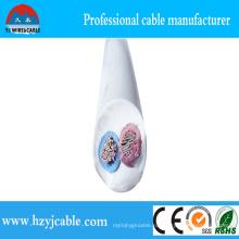 Электрический провод Гибкий двухжильный кабель с оболочкой из ПВХ