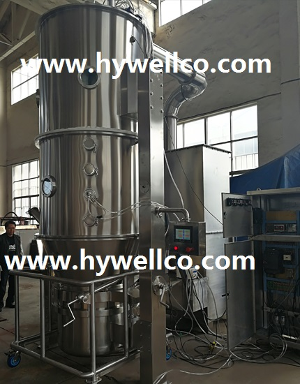 Powder Fluidizing Dryer