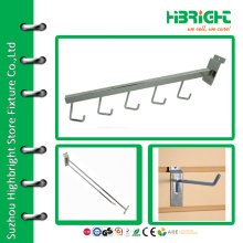 Retail 5 Hook Display Arm for Slatwall