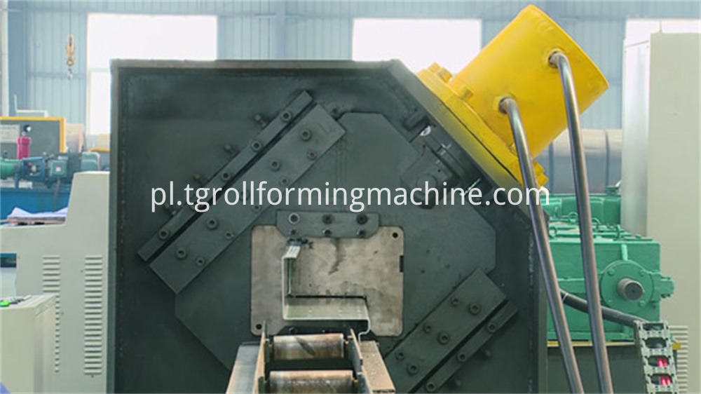 Stereo Garage Side Beam Roll Forming Machine