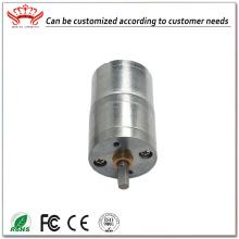 Motor de engranaje del ventilador de corriente continua de 24 voltios