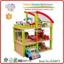 Casa de brinquedo de madeira nova 2013