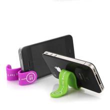 Colorido magnético cabo de silicone clip silicone titular do telefone
