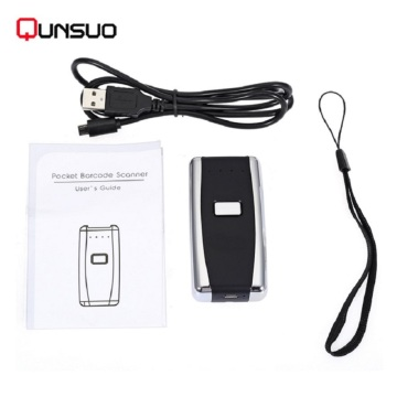 Android Wireless Rugged Bluetooth 1D 2D Barcode Scanner