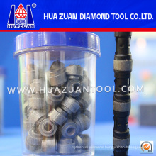 High Precision Diamond Wire Saw for Quarry with Sinter Diamond Wire Saw Beads
