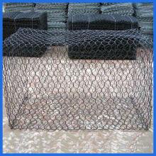 Садовая корзина для продажи / декоративная сваренная габионная каменная клетка