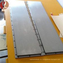 placa de Molibdeno de hoja de molibdeno en frío de alta pureza