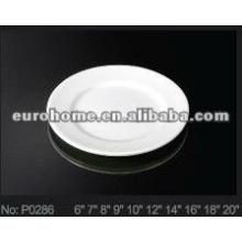Ceramic/porcelain shallow/side plate(No.P0286)