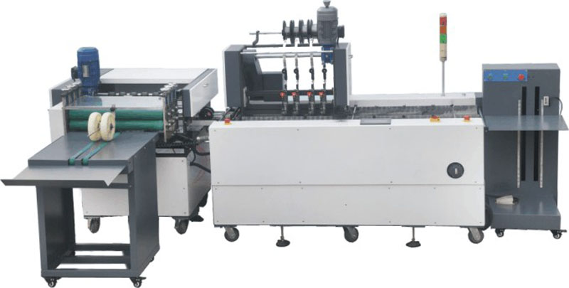 ZXDZ-62A paper stitching and folding machine