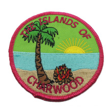Customized Woven Embroidery Cloth Patch for Gift (w-226)