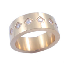 China Wholesale Factory Provide 316 Steel Fashion Man Ring Rthb2378-1