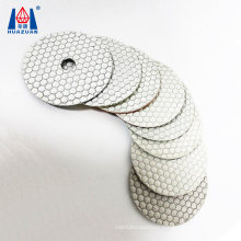 High Grade Diamond Abrasive Tool Diamond Dry Hexagonal Polishing Pad