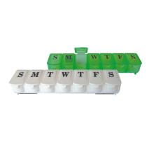 Médica nueva caja de plásticos de la píldora