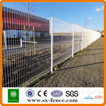 ISO9001 CER-Zertifikat PVC beschichtete geschweißten Maschendrahtzaun