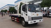 FAW 4x2 car tow truck