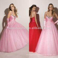 NY-2354 Elegante vestido quente de quinceanera