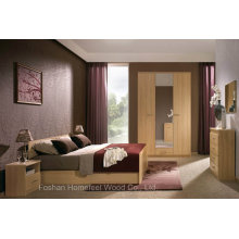 Modern Wooden Furniture Bedroom Set (HF-EY08269)