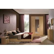 Conjunto de quarto moderno de madeira para mobiliário (HF-EY08269)
