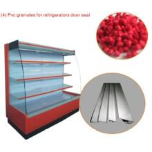 Composto de PVC para vedação de porta de refrigeradores