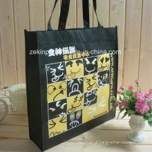 Saco de compra / sacola não tecida de alta qualidade com logotipo feito sob encomenda para relativo à promoção