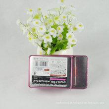 Pacote de lentes de contato Caixa de lata com tampa deslizante