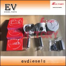 VOLVO peças do motor pistão anel de pistão D4D