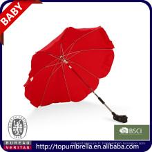 Promotion personnalisé parm Manuel ouvert bébé poussette bébé walker parapluie