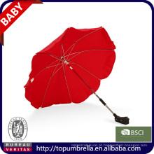 promoção personalizado parm Manual open baby stroller bebê walker umbrella