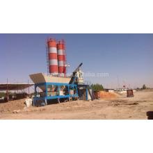 Planta móvel portátil de lotes de concreto quente no Paquistão