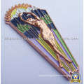 3D Zinc Die Cast Softenamel Badge (Hz 1001 B060)