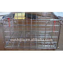 Beautiful and burly galvanized wire mesh container