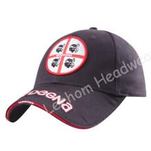 (LPM16018) bordado construido promocional gorra bordada