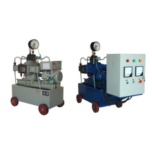 Automatic pressure test pump with pressure recorder
