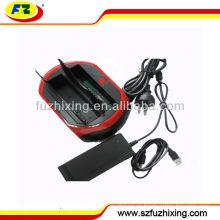 """USB2.0 2.5 """"3.5"""" Dual SATA IDE HDD estación de acoplamiento con OTB"""