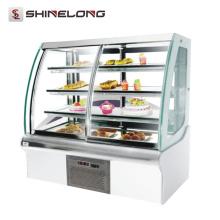 Handelskühlschrank für Verkauf Glasschaukasten-Bäckereianzeigenkühlschrank