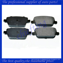 FDB1932 LR003657 LR023888 LR003655 1682005 1566234 MDB2887 zapata de freno de China para Land Rover Freelander