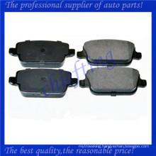 FDB1932 LR003657 LR023888 LR003655 1682005 1566234 MDB2887 china brake pad for land rover freelander