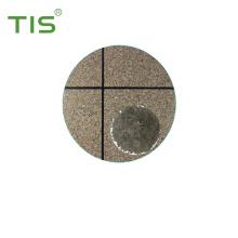 Pintura acrílica da parede das microplaquetas do granito