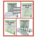 Antithypertensive Captopril Tablets 25mg