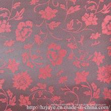 Tissu jacquard polyester-viscose pour doublure en vêtement (JVP6359A)