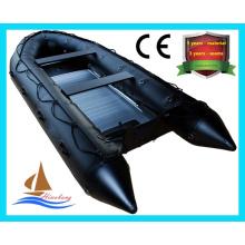 Bateau de sauvetage gonflable en PVC de haute qualité, bateau de pêche avec CE