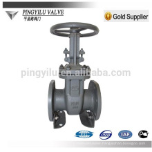 GOST PN16 carbon steel oil,water,gas flange steel stem russia gate valve