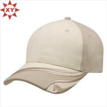 Capuchon blanc personnalisé / impression cap / casquette de baseball en gros
