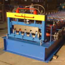 Rusia tipo de chapa de acero galvanizado pisos paneles decking rollo formando la máquina