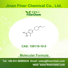 Cas 159119-10-5 | B-[2-Fluoro-4-(trans-4-propylcyclohexyl)phenyl] | OLED intermediate | 159119-10-5 | factory price; large stock